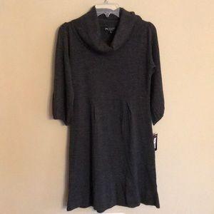 NWT Cowl neck sweater dress size PM